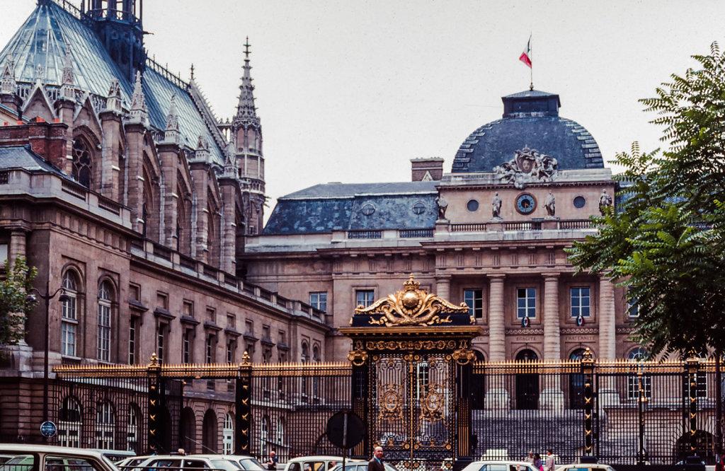 Vakantie Parijs - 1979